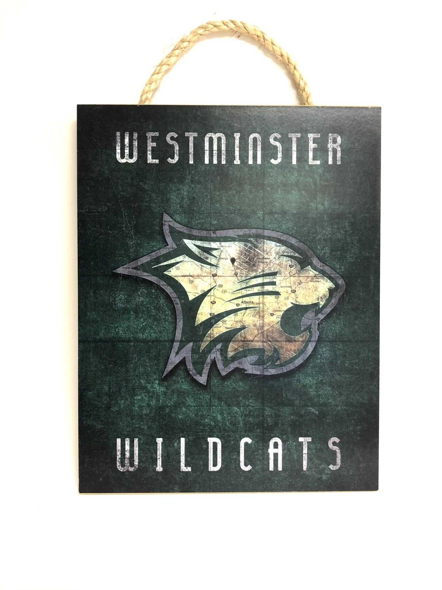 Plaque: Westminster Wildcats