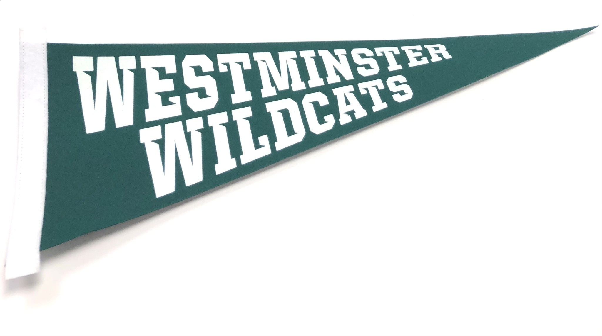 Pennant: Green Westminster Wildcats