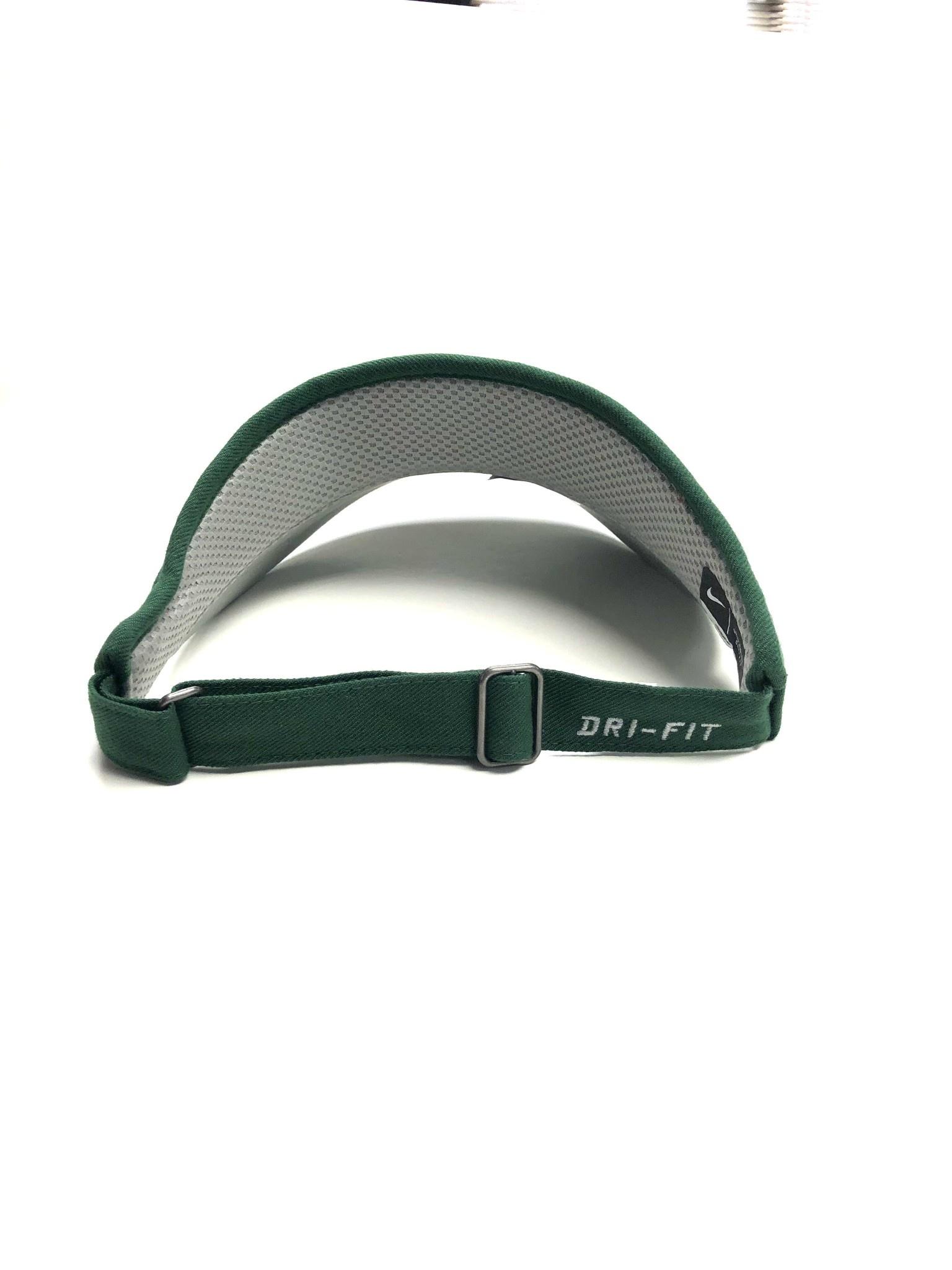 Nike Visor: Nike Dri-Fit Sideline Green