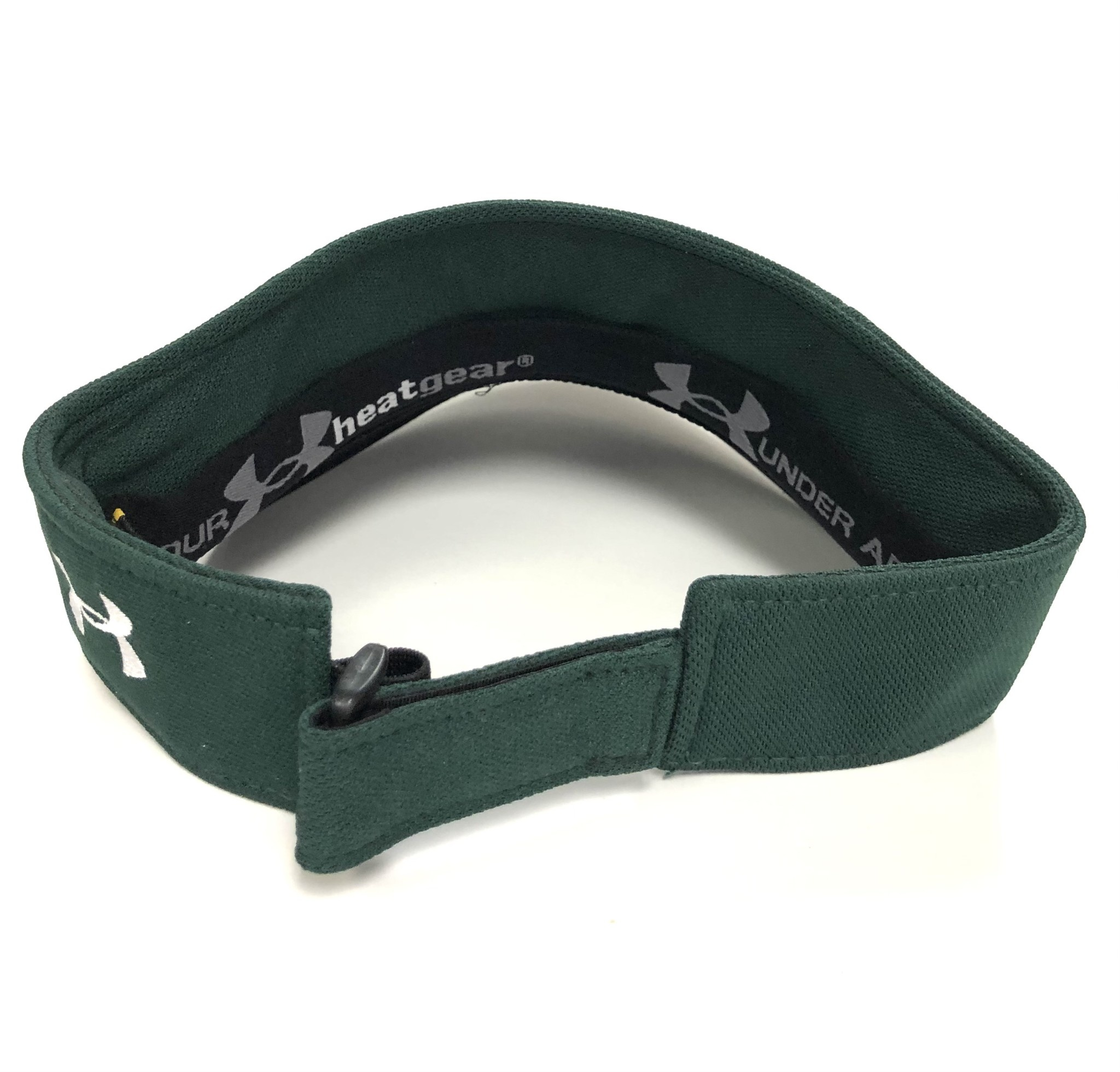 Under Armour Visor: Under Armour Green with classic cathead