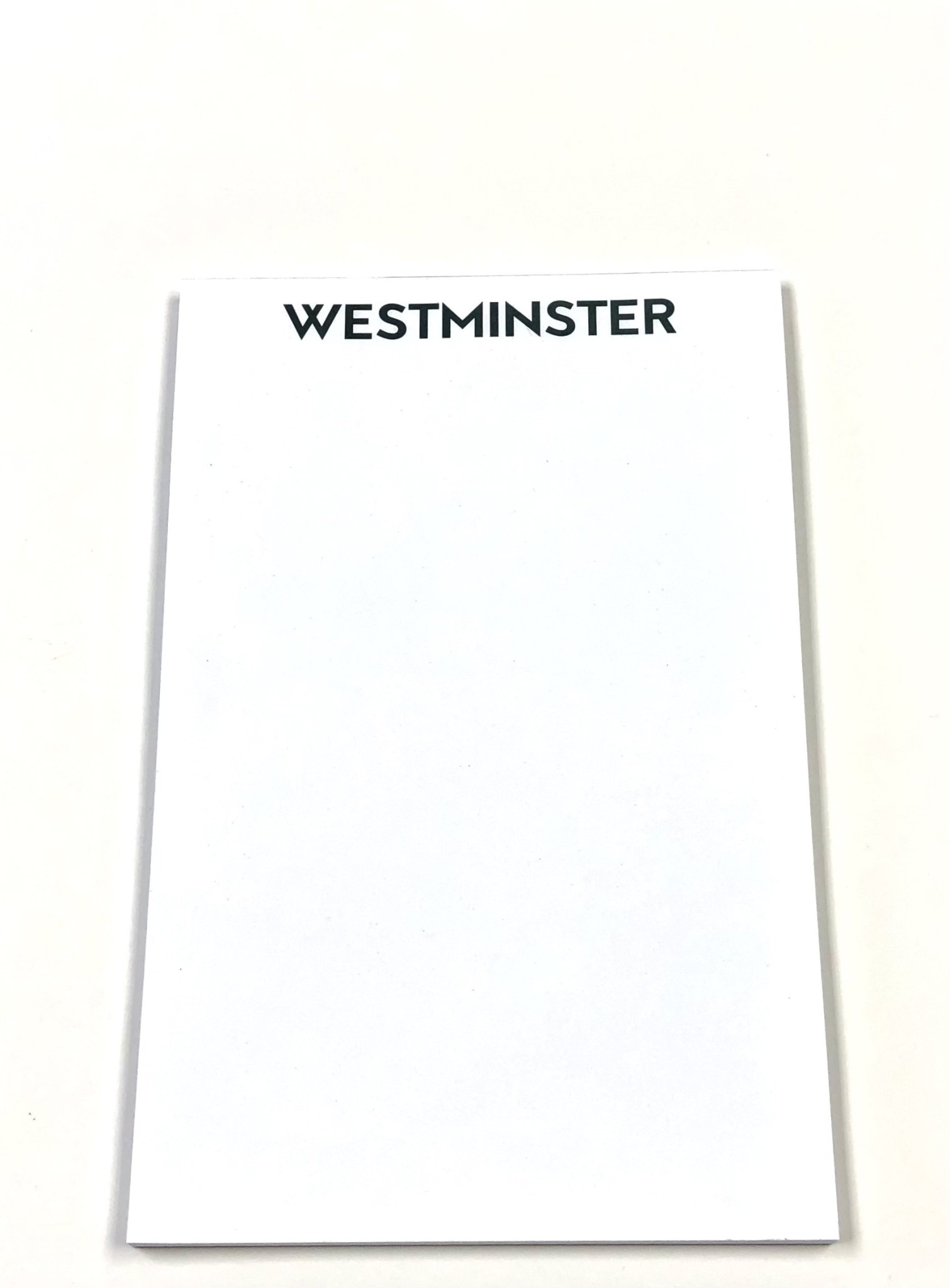 Notepad: White Westminster