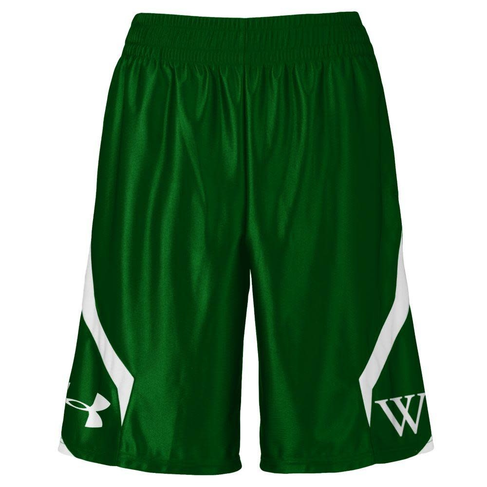 Under Armour Shorts: UA Green with W
