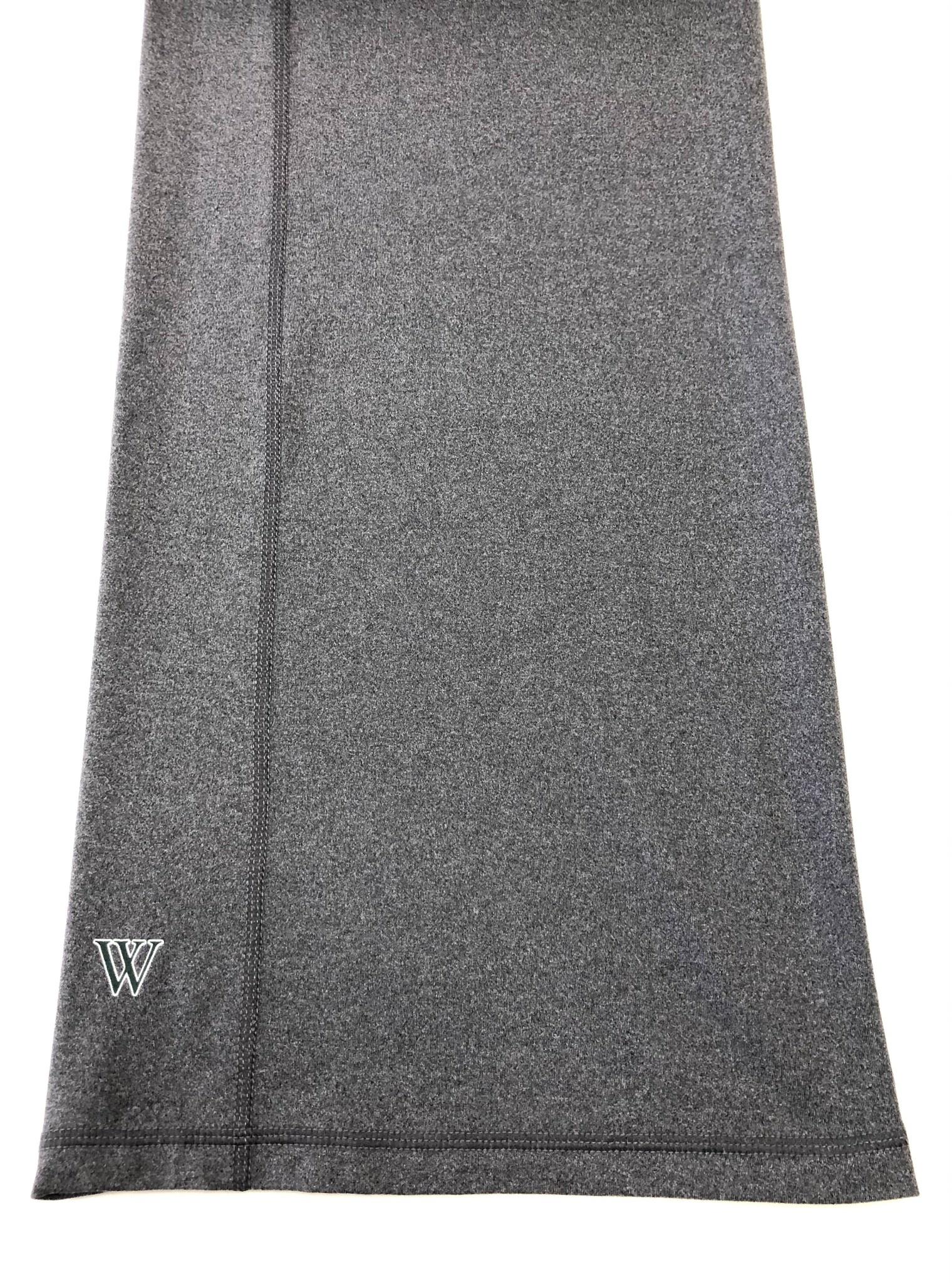 Under Armour Pant: UA XL Gray Yoga Pant