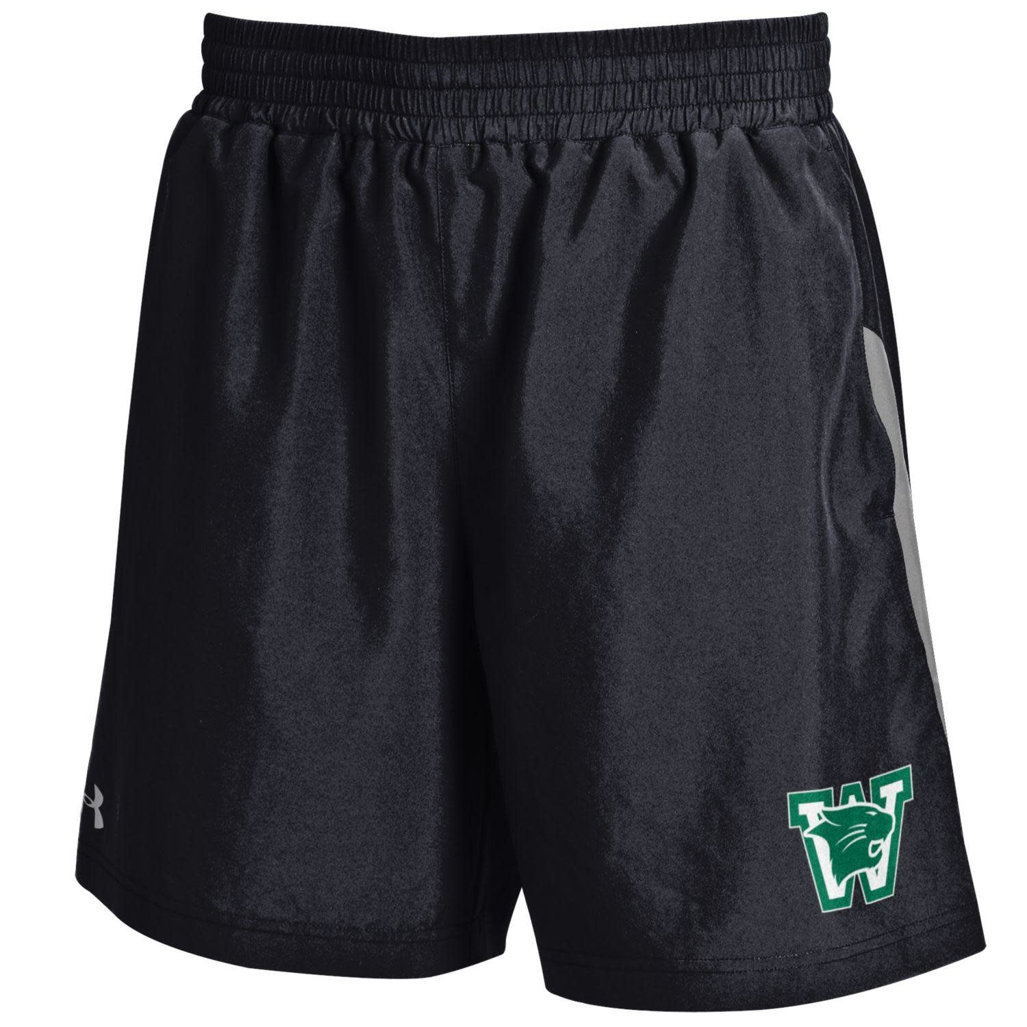 Under Armour Shorts: UA L Black Woven 7 Inch