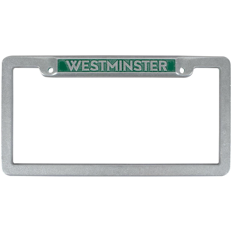 License Frame: Silver