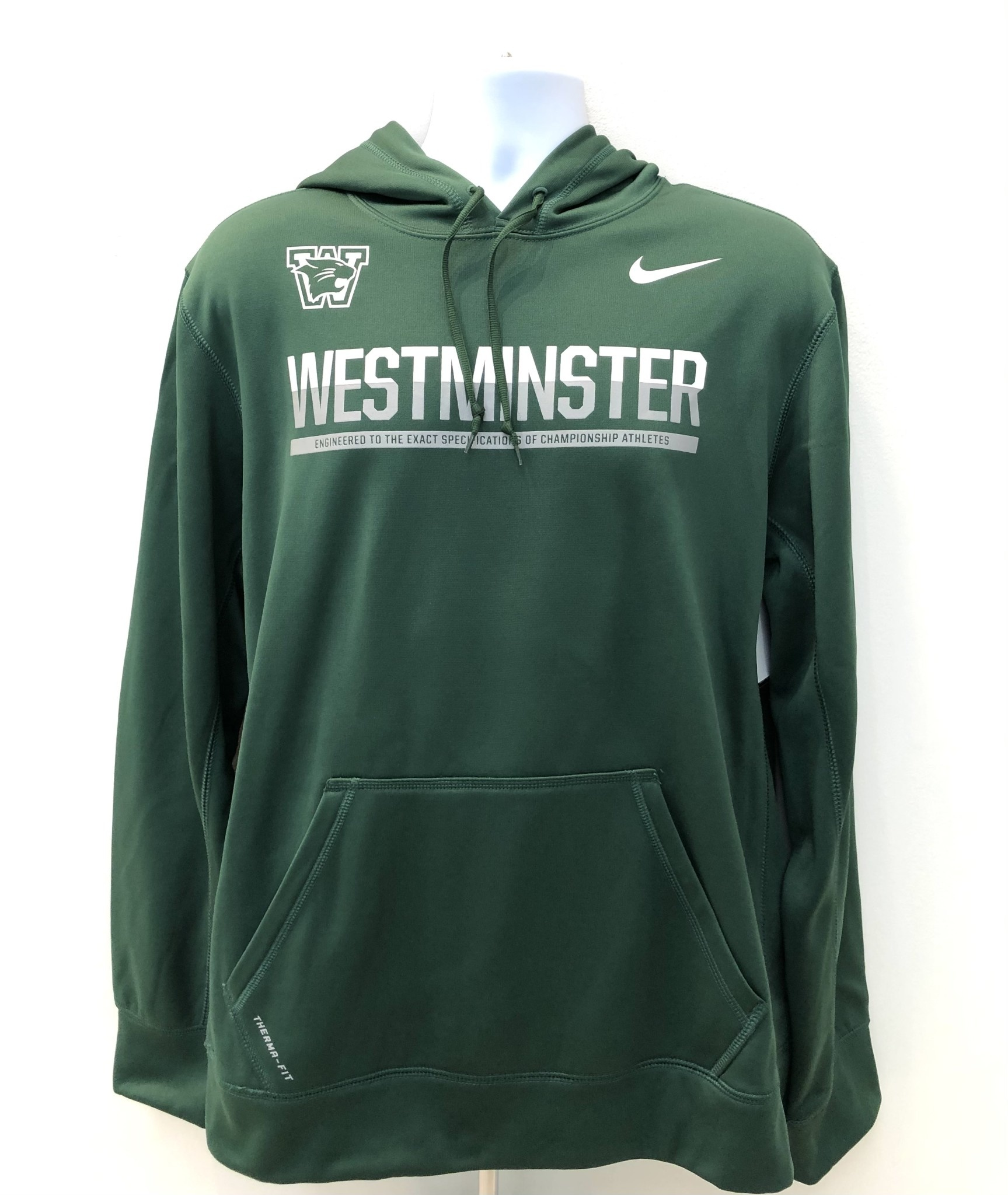 Nike Sweatshirt: Nike KO Pullover Hoody - Green