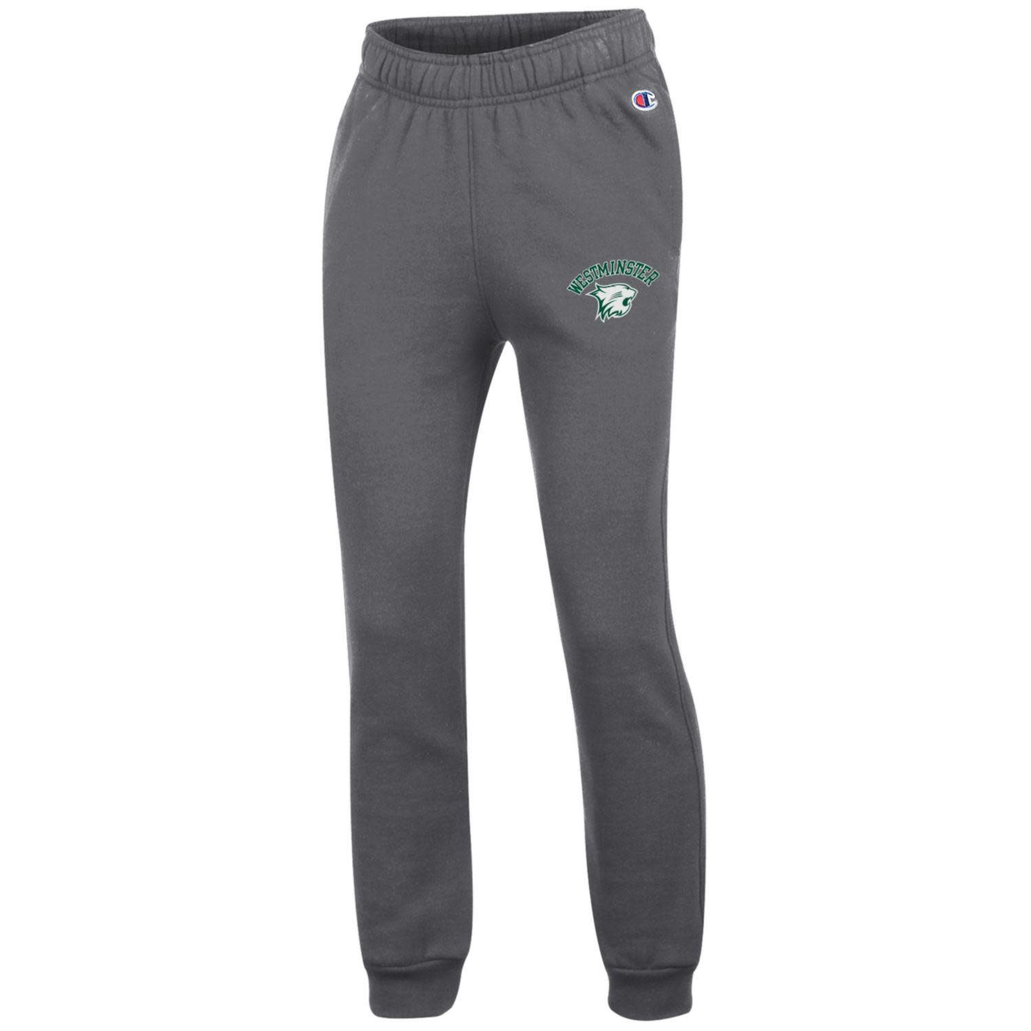 Champion Pant: Champion Youth Powerblend Jogger Charcoal