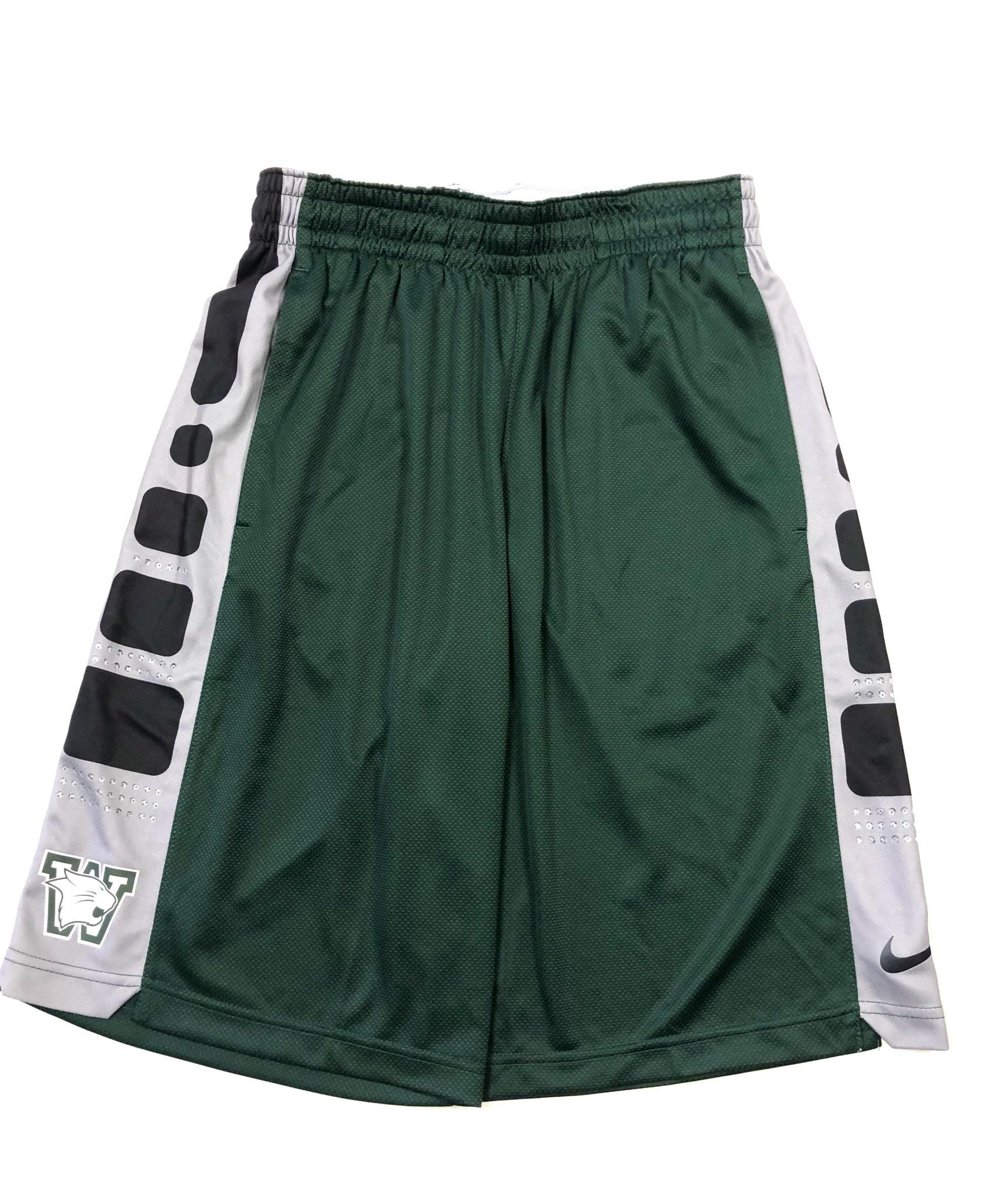 Nike Shorts: Nike Elite Stripe - Green