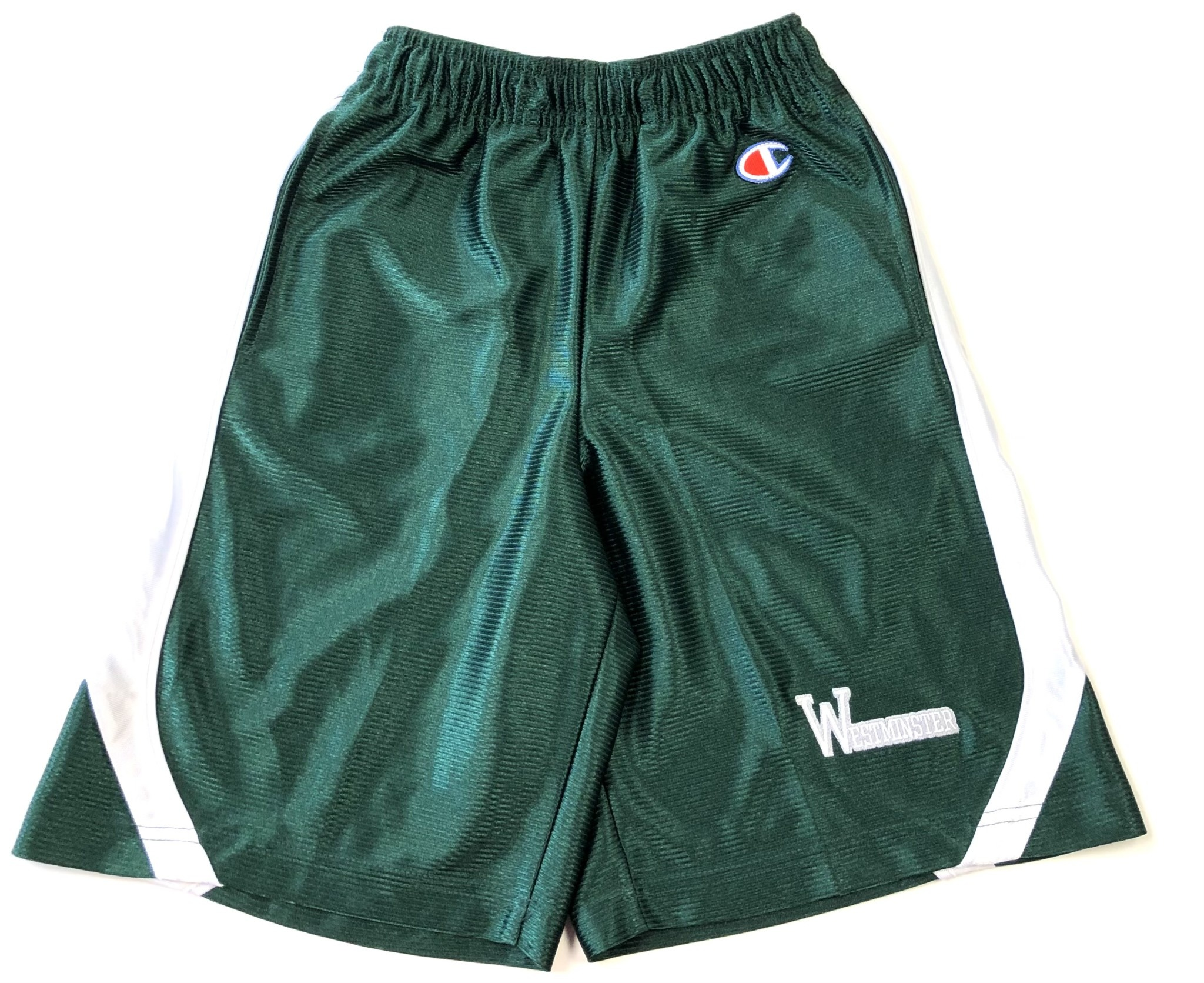 Champion Shorts: Champion Green/White w/Westminster