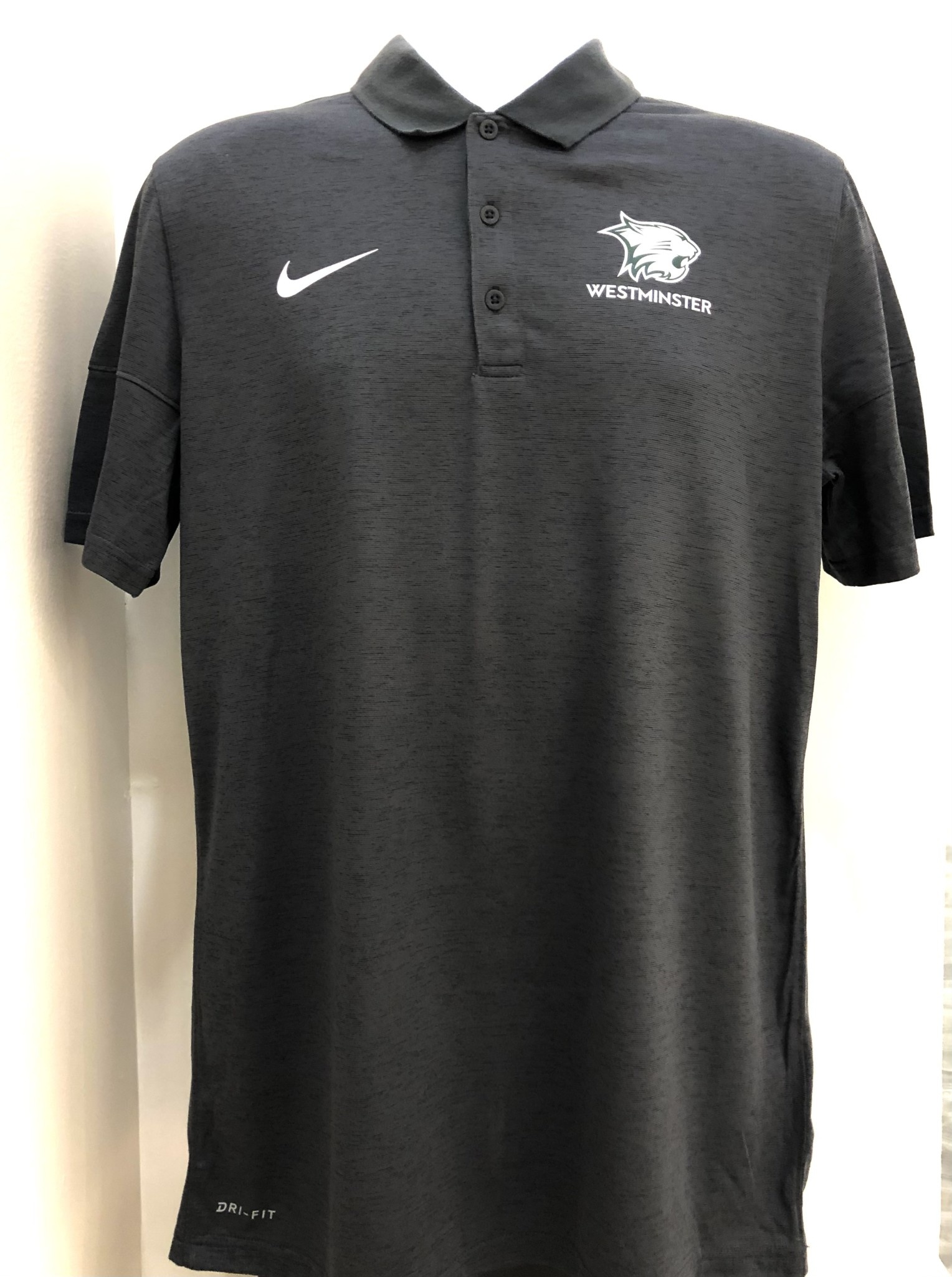 Nike Polo: Nike Dry Polo Dark Heather