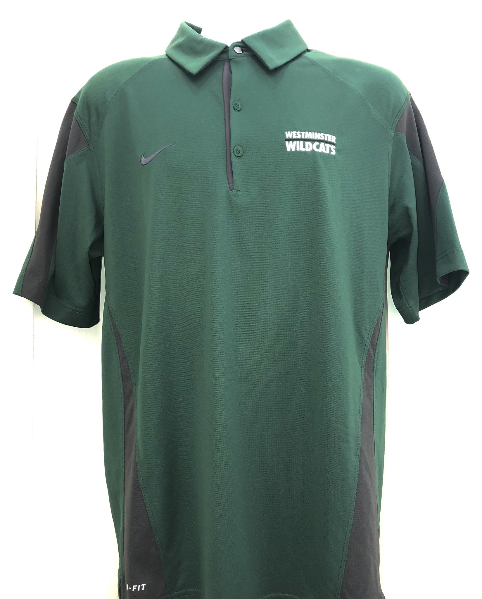 Nike Polo: Nike First Down Green/Anthracite