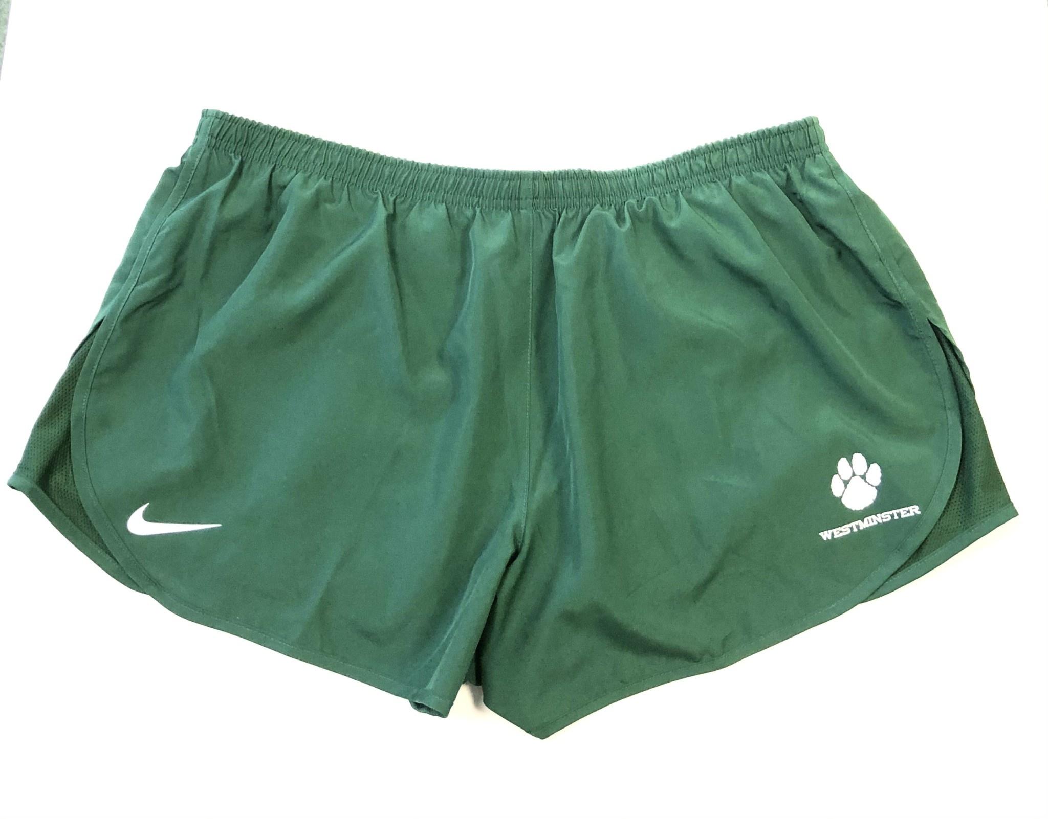 Nike Shorts: Nike XL Women's Mod Tempo Green