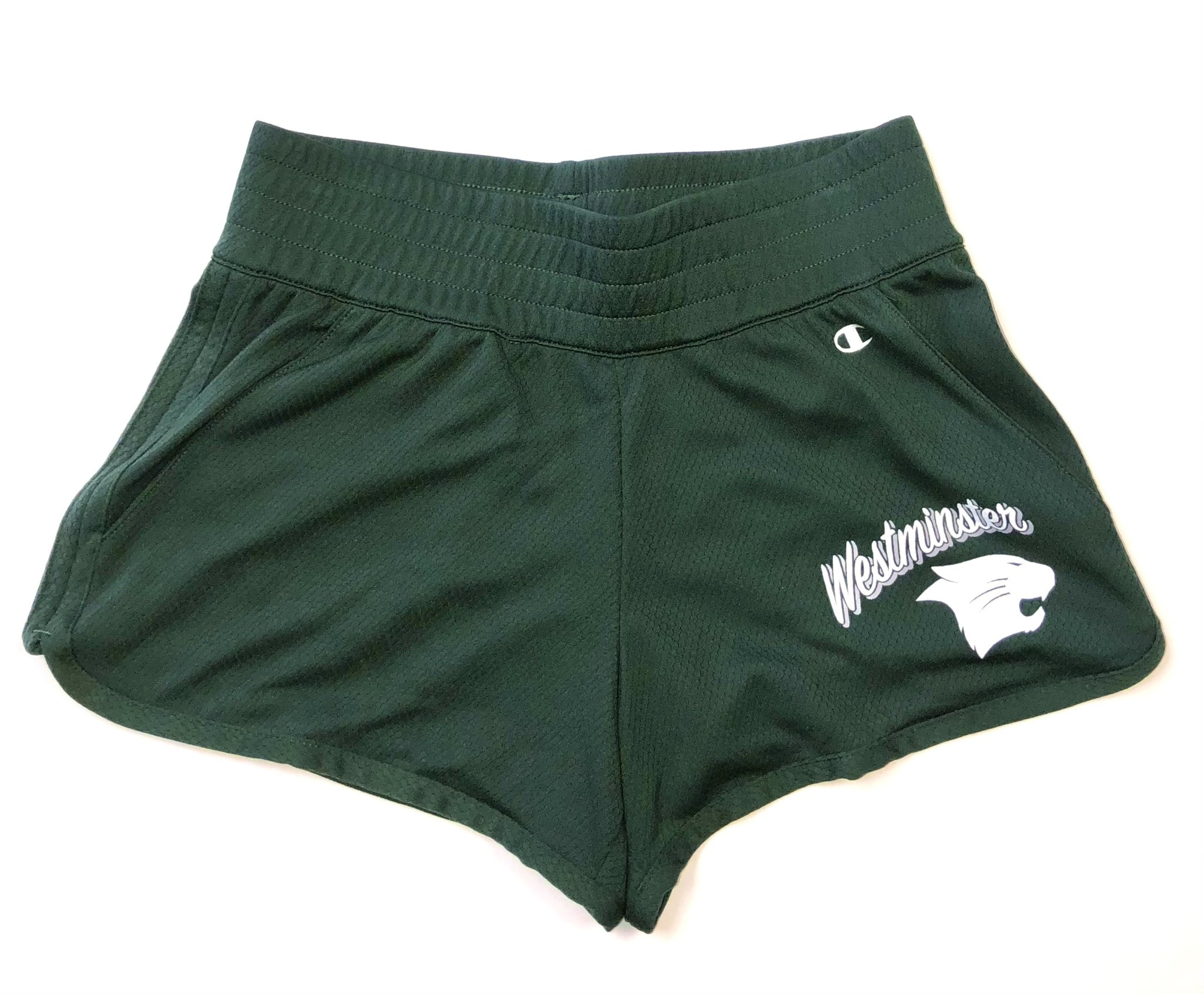 Champion Shorts: Champion Ladies Endurance Green