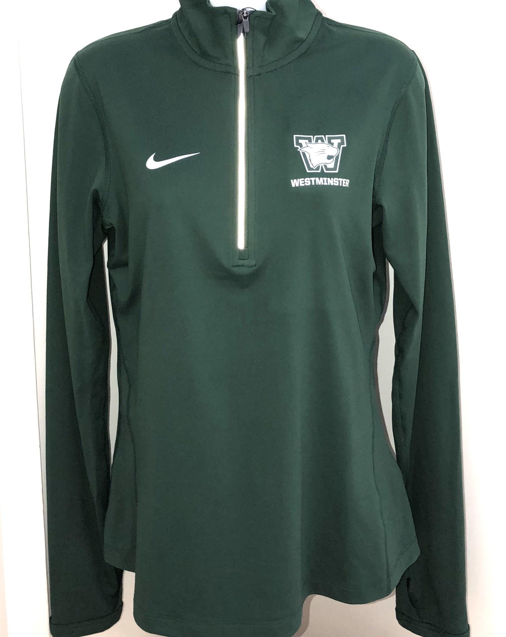 Nike Pullover: Nike Ladies Green Tailgate Element