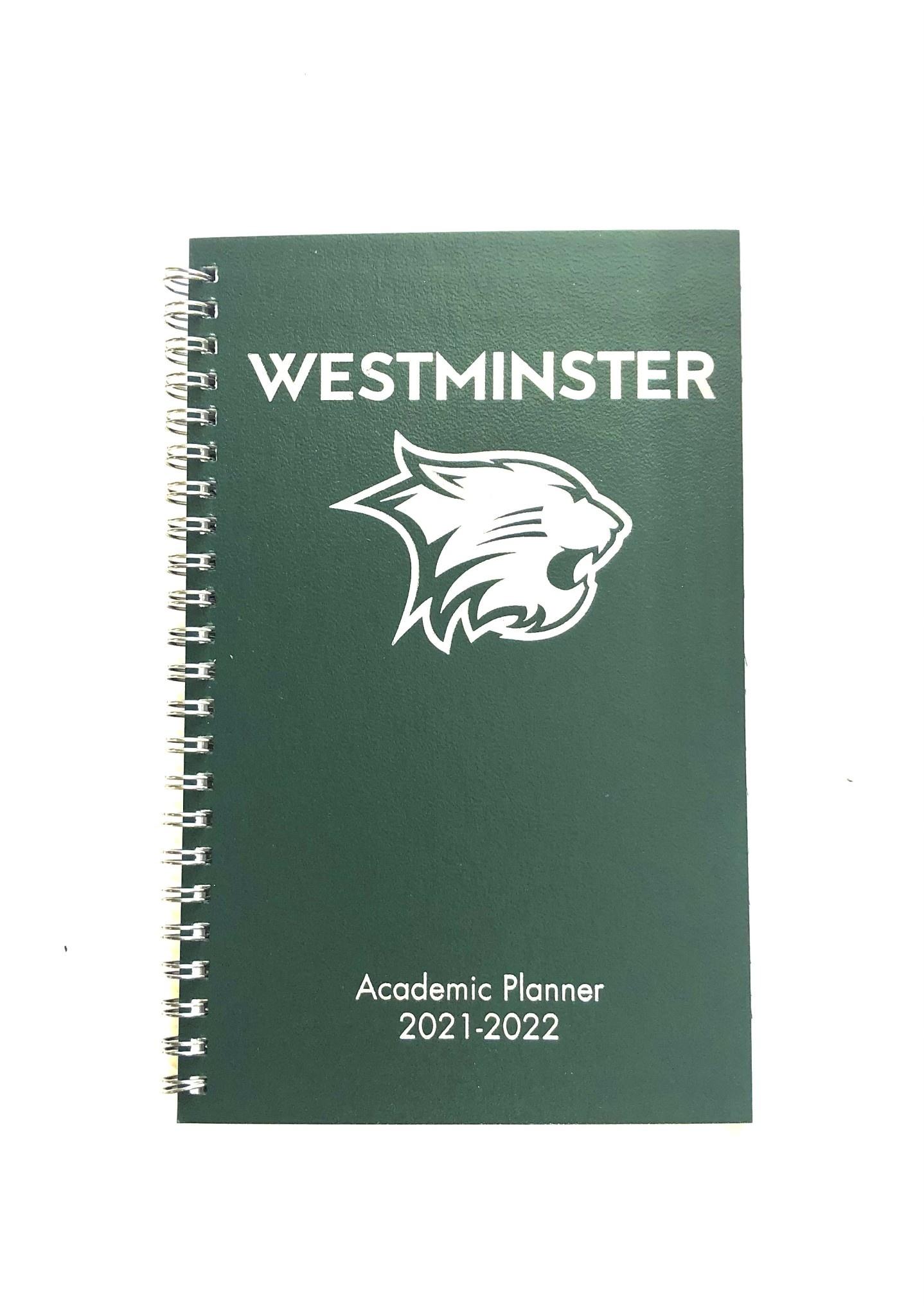 Academic Planner: Westminster 2021-2022