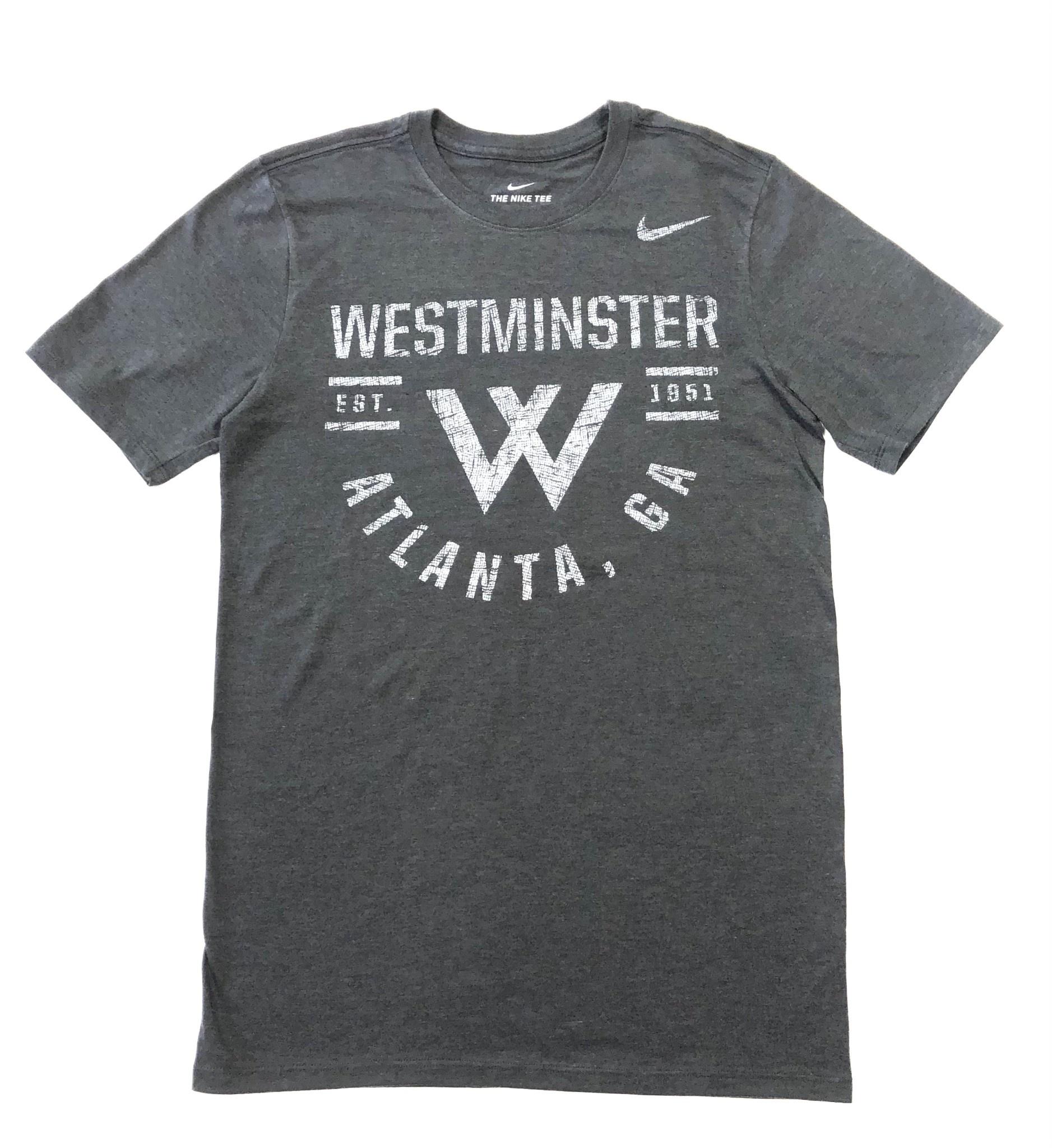 Nike T: Nike SS Tri-Blend Westminster Atlanta