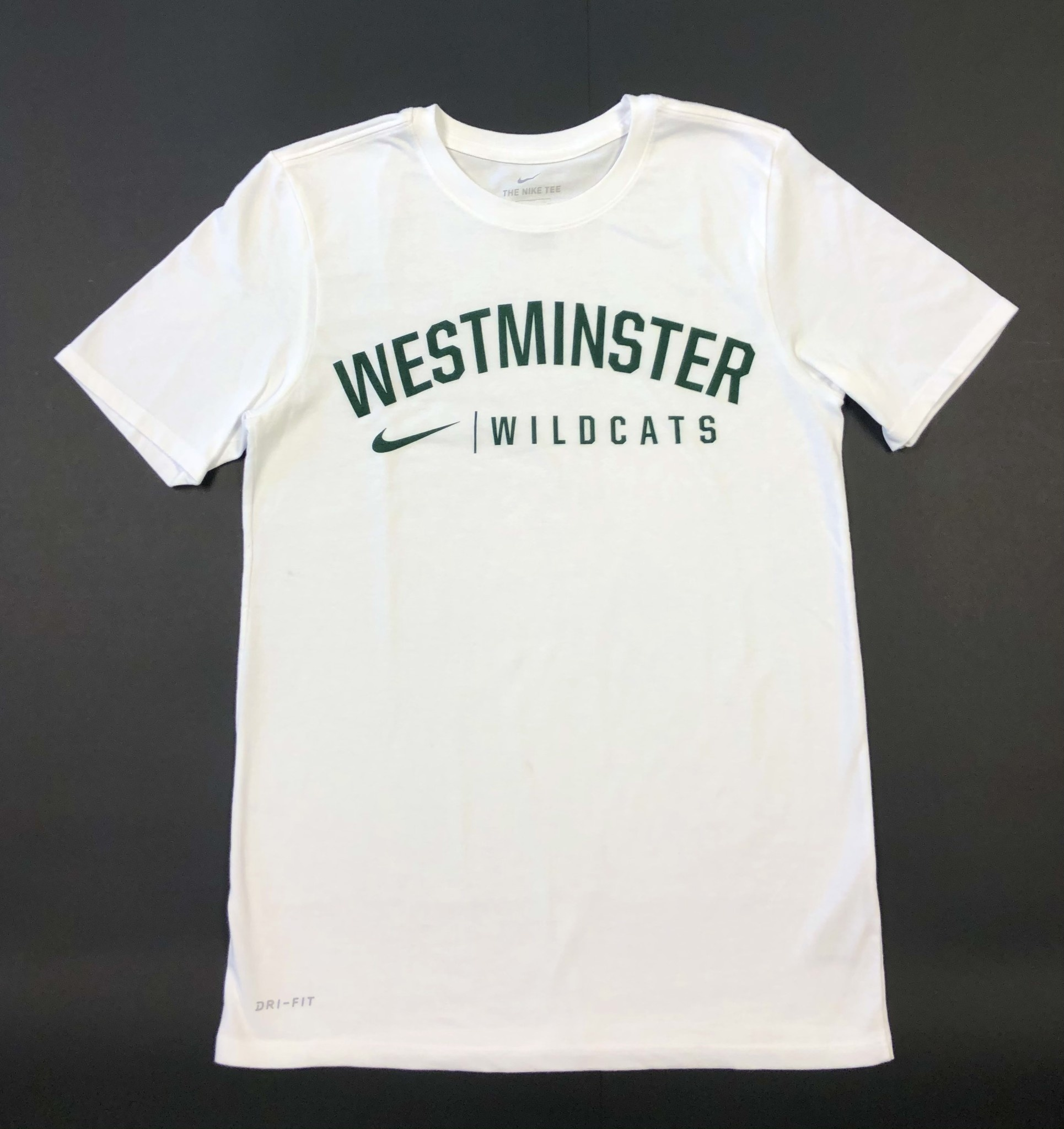 Nike T: Nike Dri-Fit Cotton SS White West Wildcats