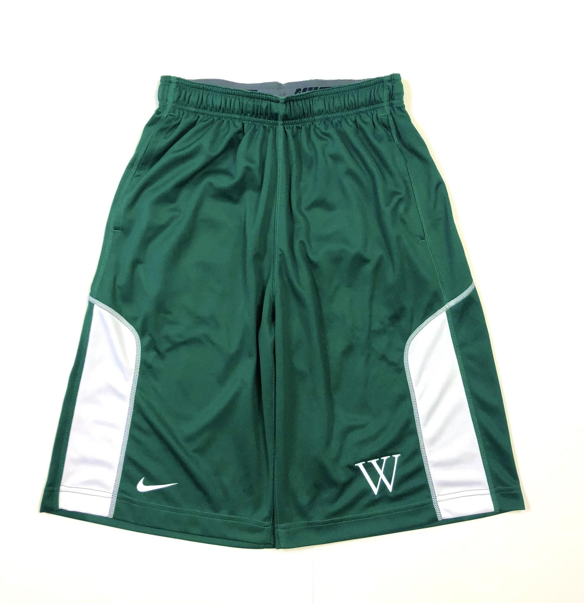 Nike Shorts: Nike Fly Green/White