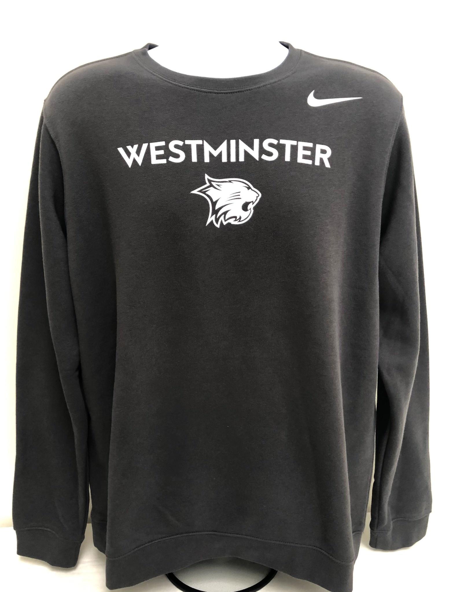 Nike Sweatshirt: Nike Club Fleece Crew