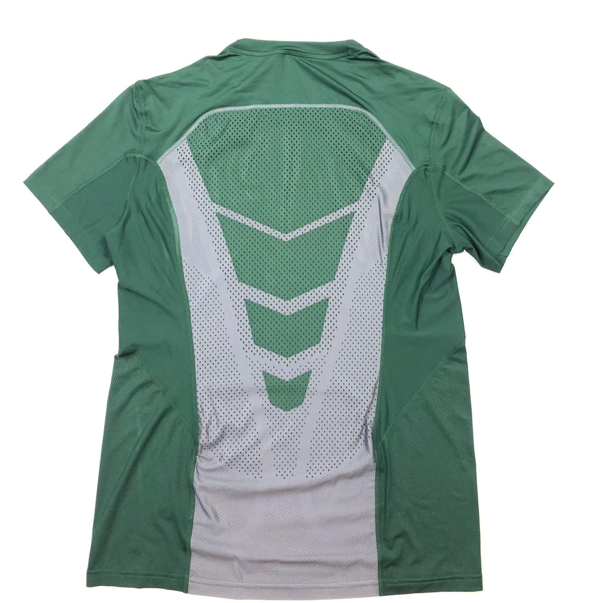 Nike T: Nike Hypercool Dri-fit SS- Green/Gray