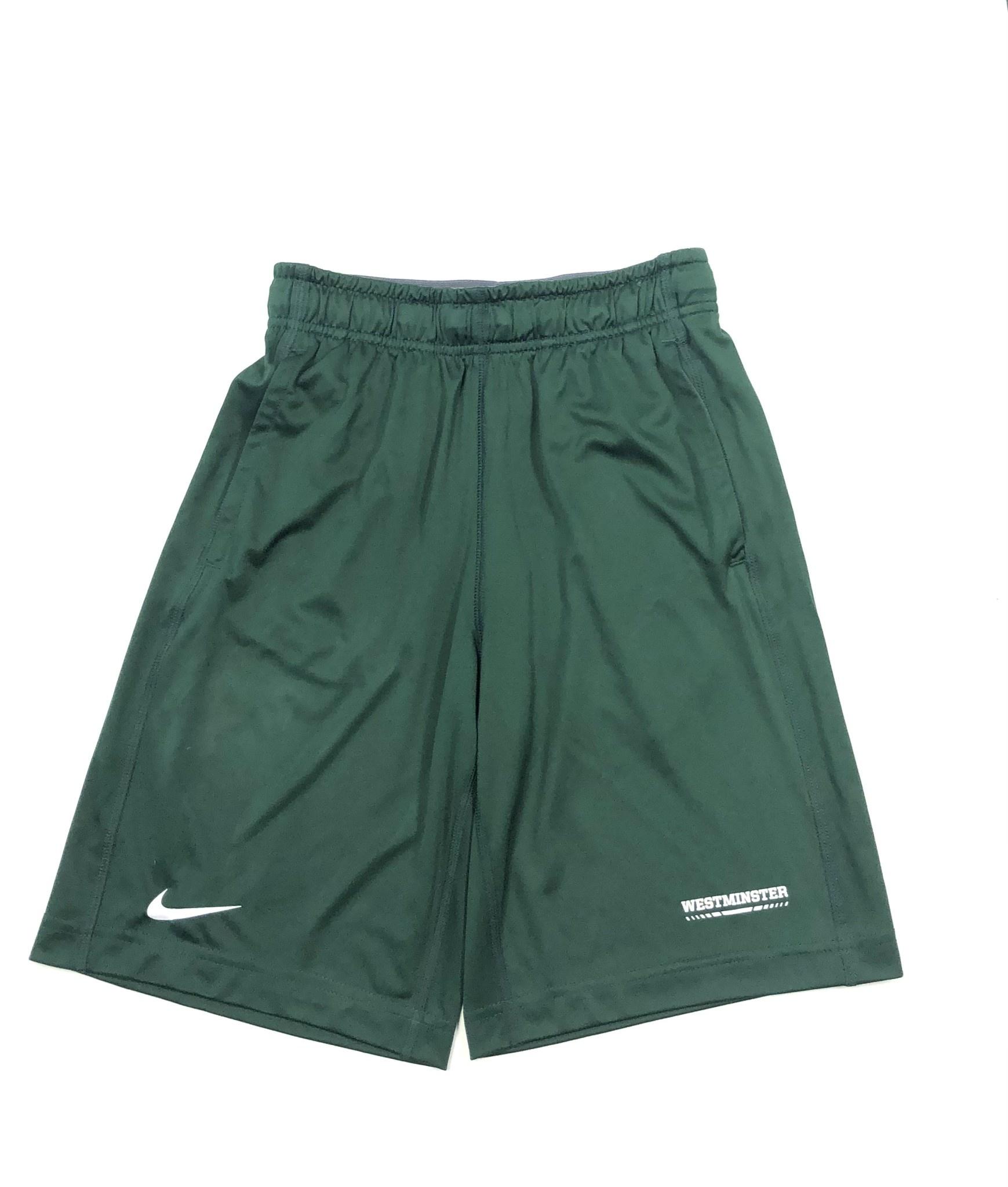 Nike Shorts: Nike Fly - Green Youth
