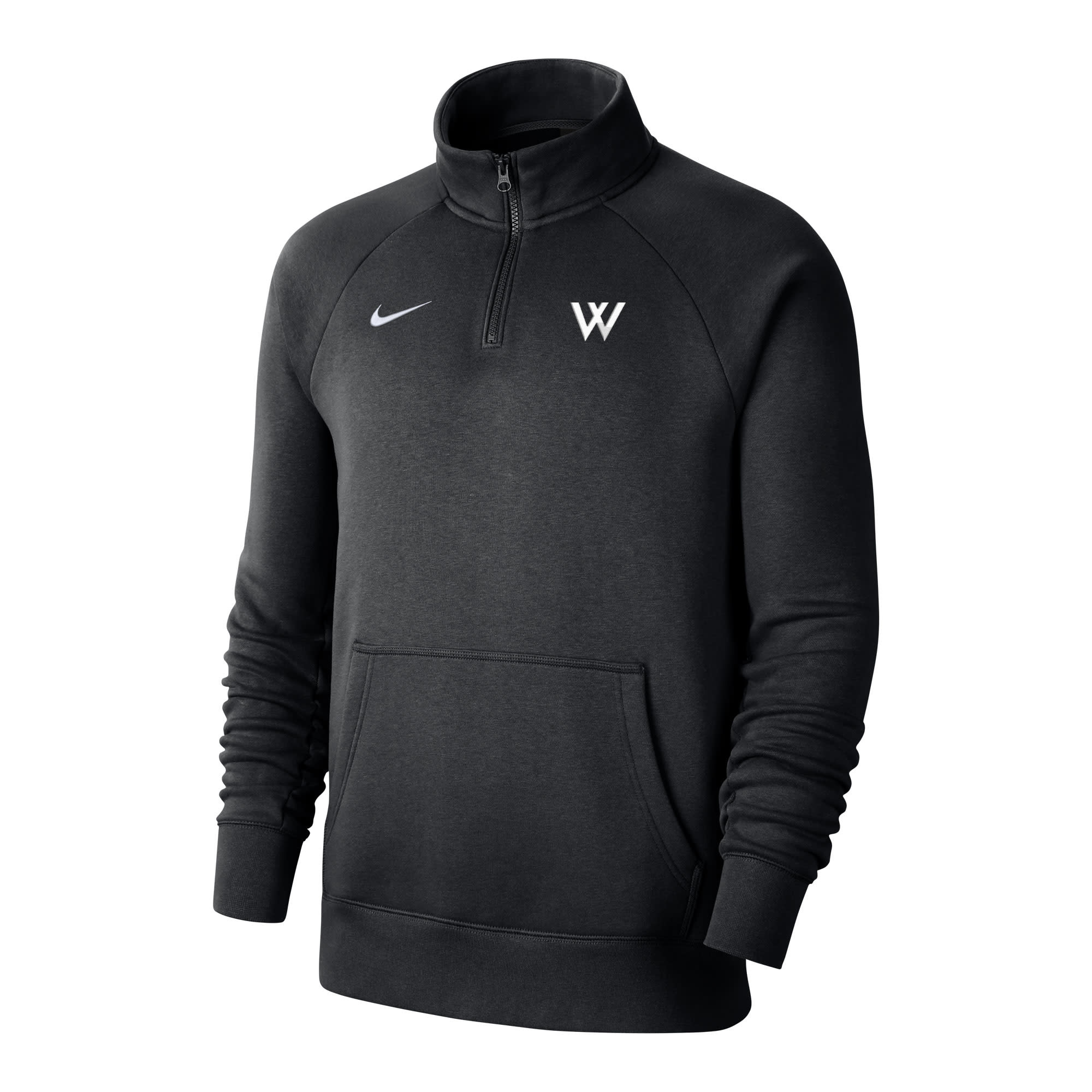 Nike Pullover: Nike Club Fleece 1/4 Zip w/W