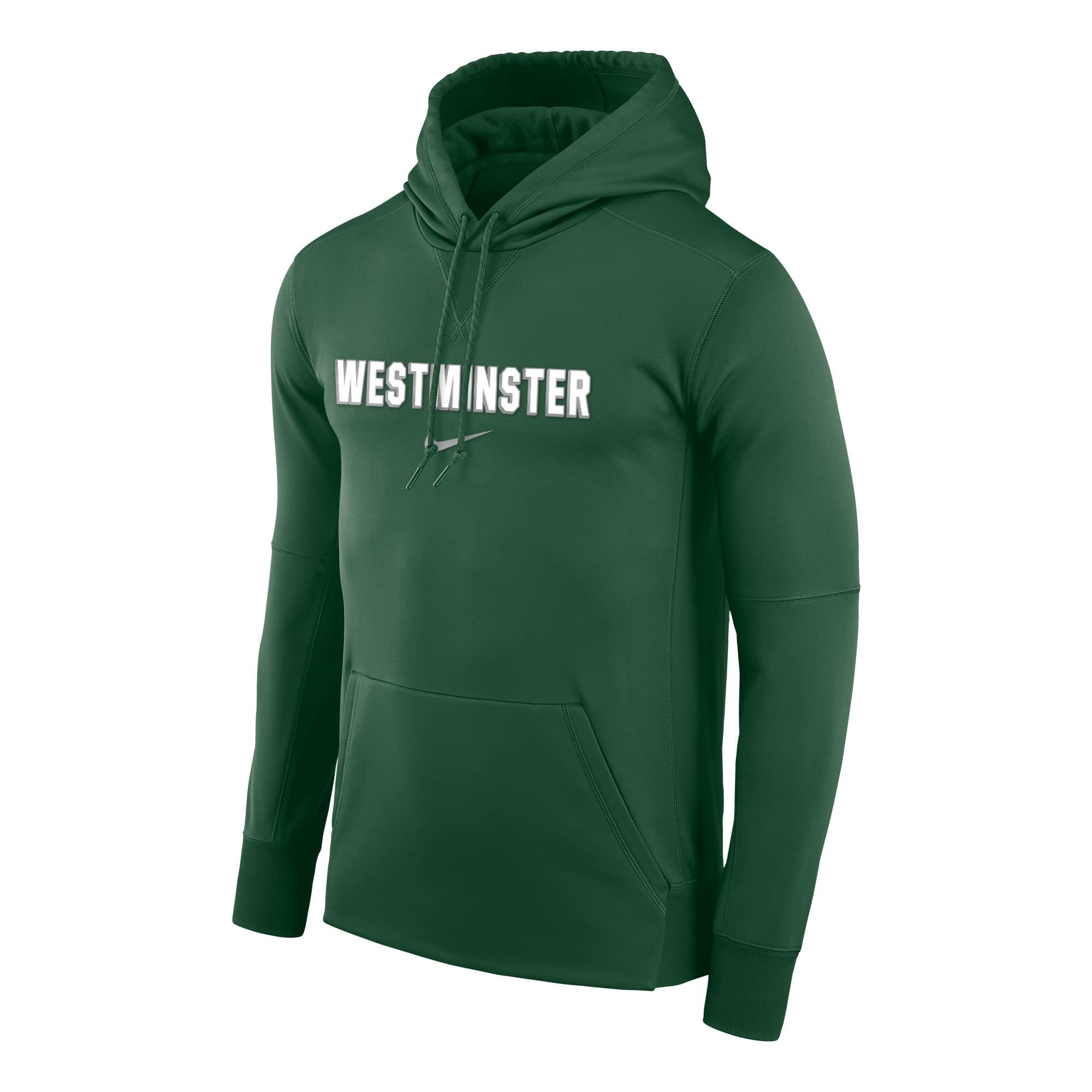 Nike Sweatshirt: Nike Therma PO Hoody - Green w/Westminster