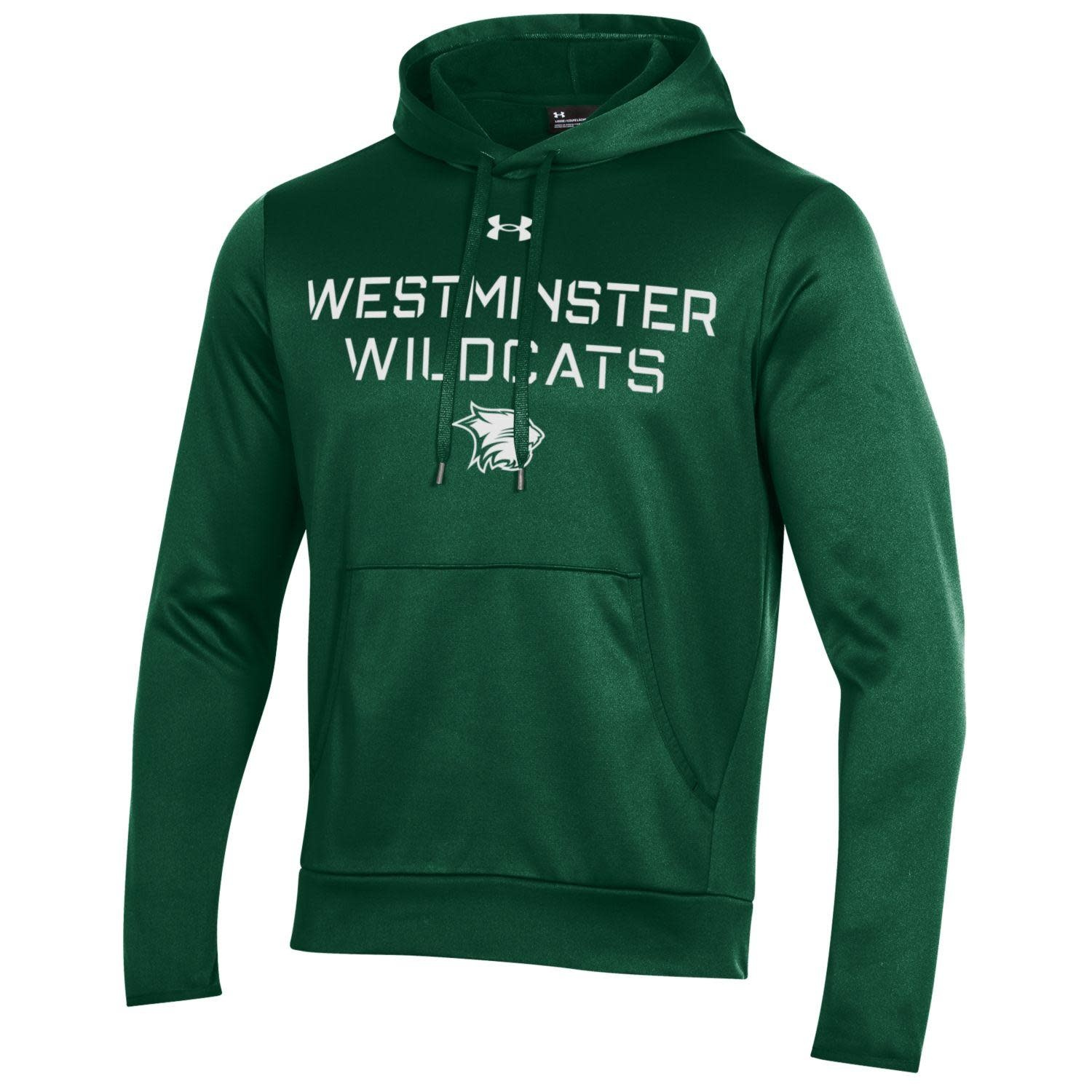 Under Armour Hoody: UA Mens PO - Forest Green