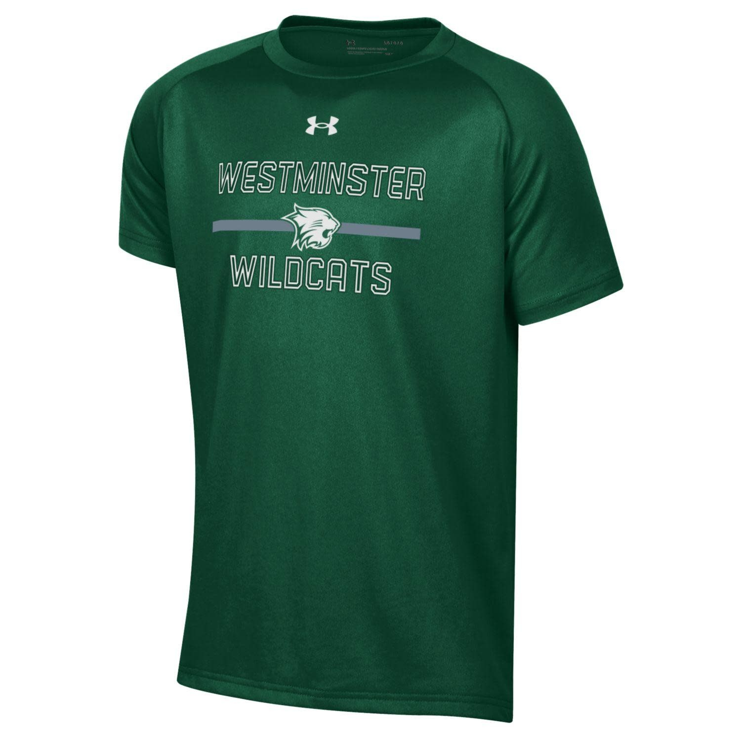 Under Armour T: Boys Tech SS - Mascot on Bar over Westminster