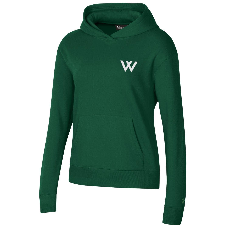 Under Armour Sweatshirt: UA Womens All Day Hood -