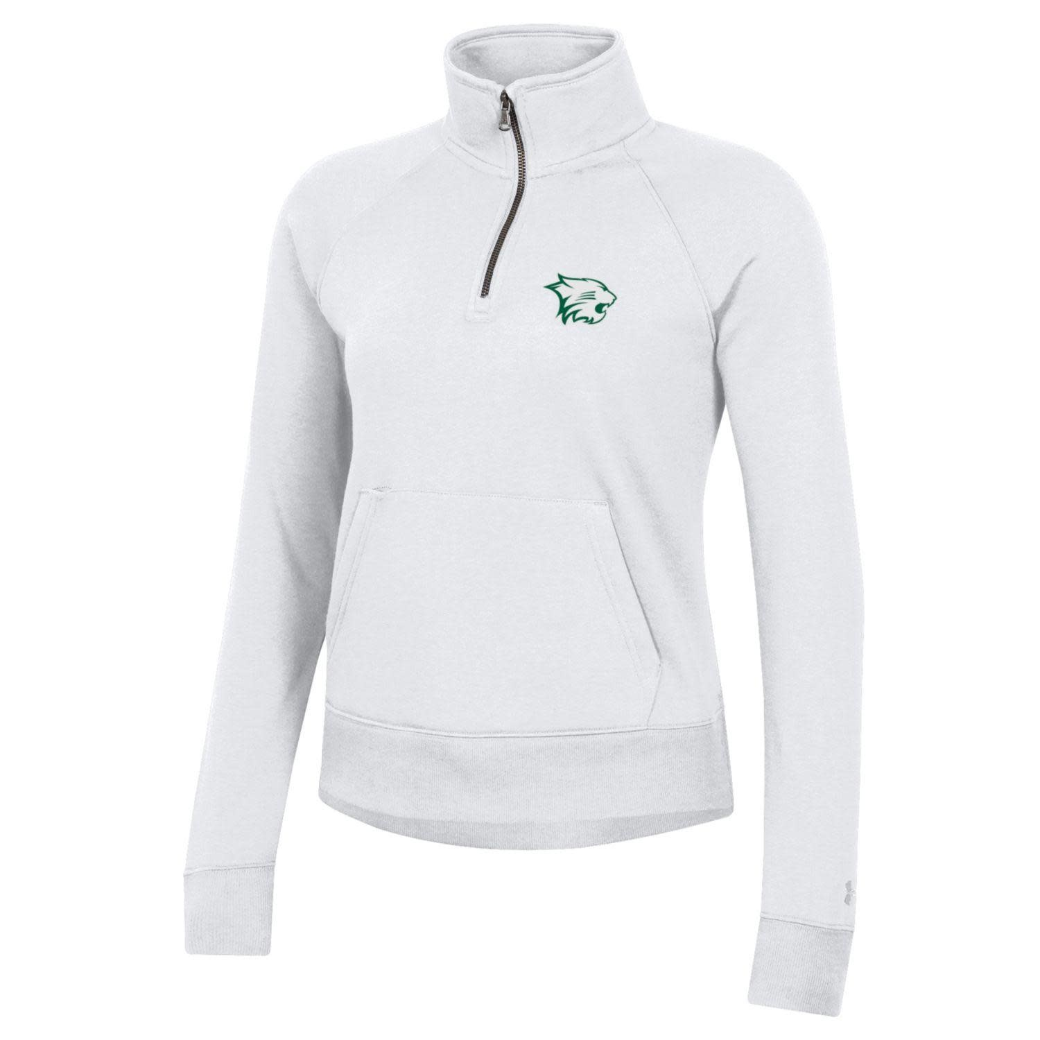 Under Armour Pullover: Womens All Day 1/4 Zip, Wildcat Patch