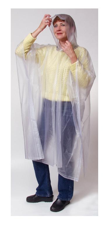Poncho: Westminster Clear Rain Poncho