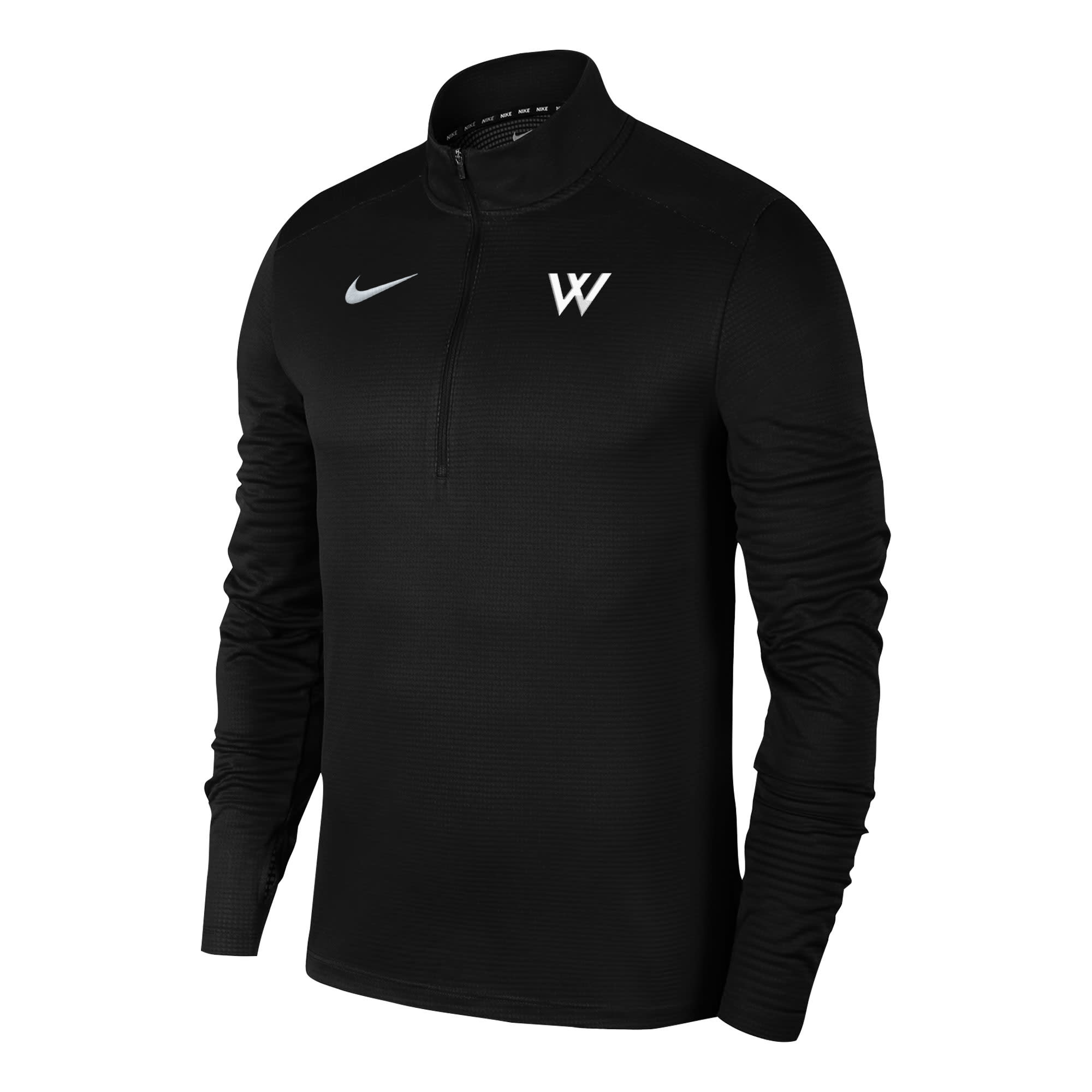 Nike Pullover: Nike Pacer 1/4 Zip Green