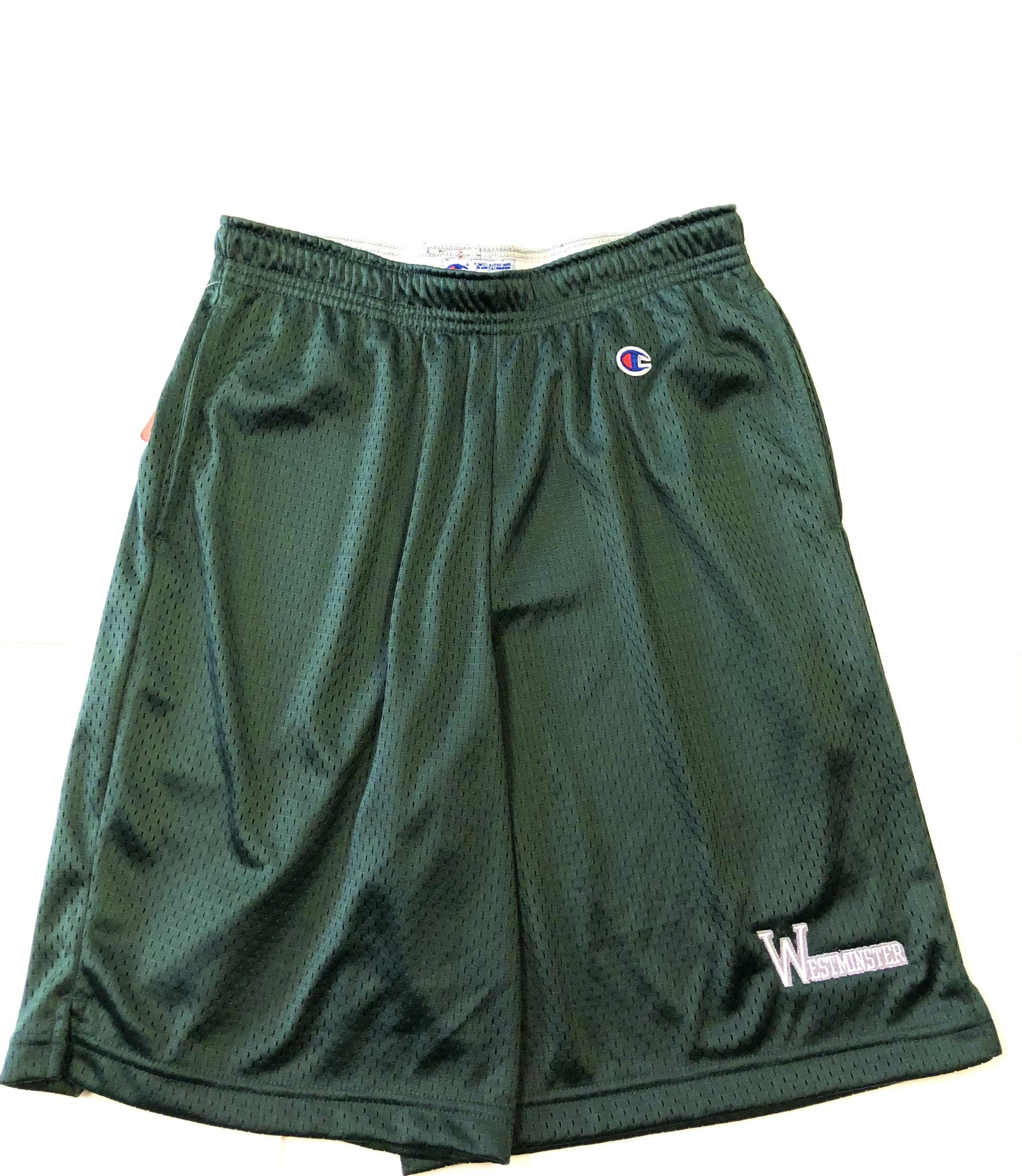 Champion Shorts: Champion Green Mesh