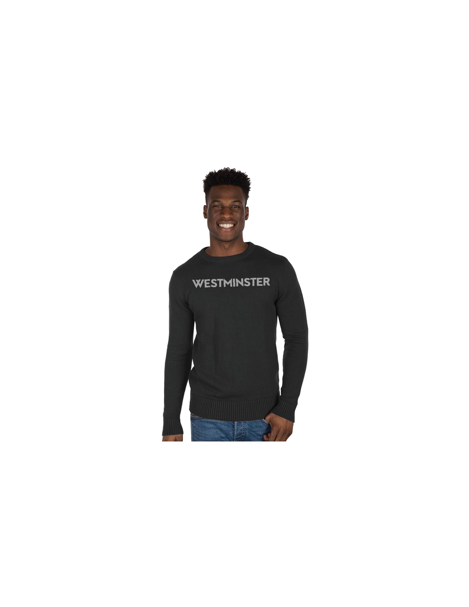 Sweater: Crew Neck, Granite and Stone