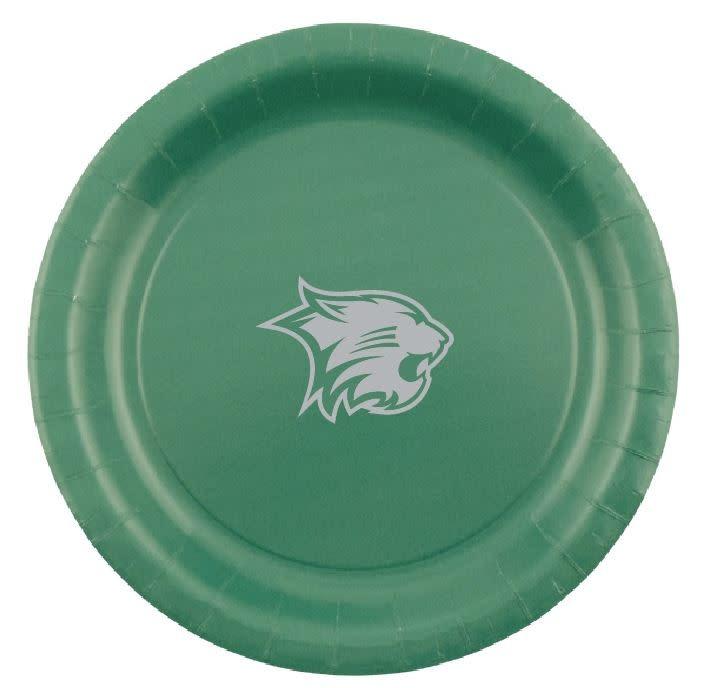 Round Paper Plate, Wildcat Logo, 10 Pk