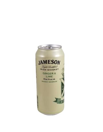 Jameson Whiskey Jameson Ginger and Lime Whiskey Soda 473ml