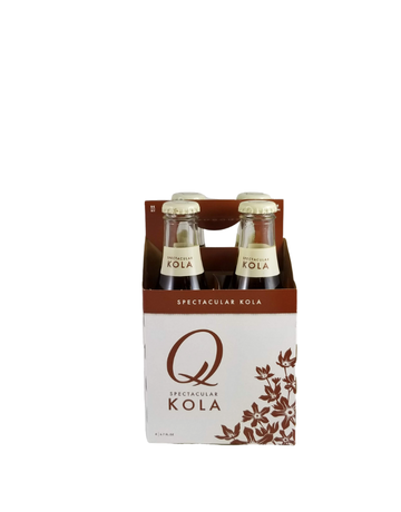 Q Drinks Kola 198ml x 4pack