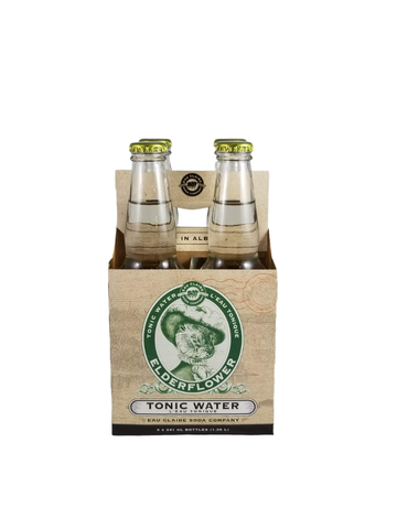 Eau Claire Distillery Eau Claire Tonic Water Elderflower 4 x 341ml