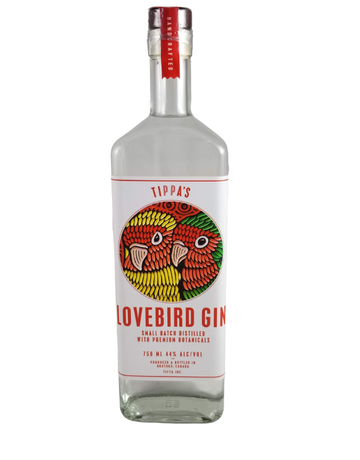Tippa's Distillery Tippa's Lovebird Gin 750ml