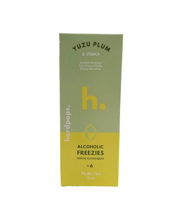 HardPops HardPops Yuzu Plum Vodka Freezie 6x70ml