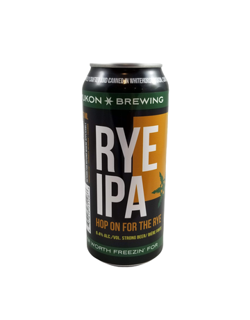 Yukon Brewing Yukon Brewing Rye IPA 473ml