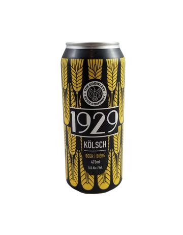 The Growlery Beer Co. The Growlery 1929 Kolsch 473ml