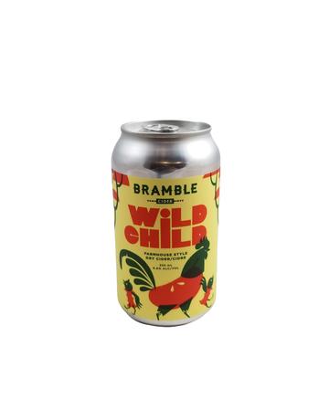 Bramble Cider Bramble Wild Child Farmhouse Style Dry Cider 355ml