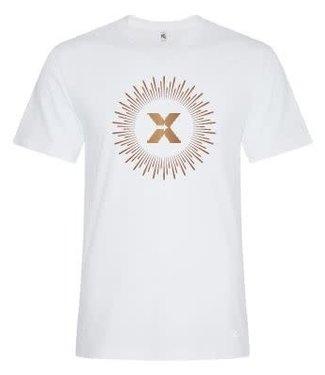ABX T-Shirt Men's White/Copper