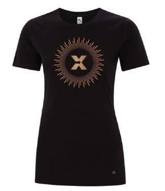 ABX T-Shirt Ladies Black/Copper
