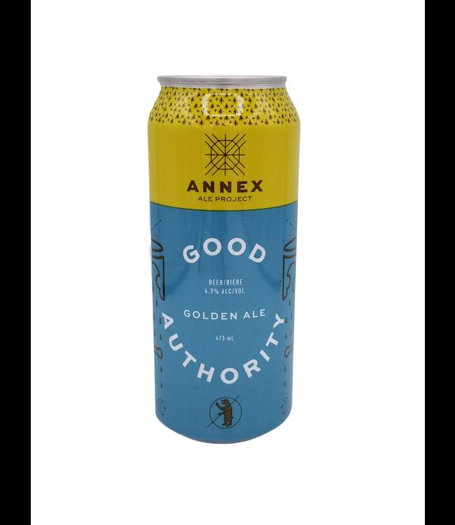 Annex Ale Project Good Authority Golden Ale 473ml