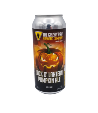 Grizzly Paw Brewing Grizzly Paw Jack O' Lantern Pumpkin Ale 473ml