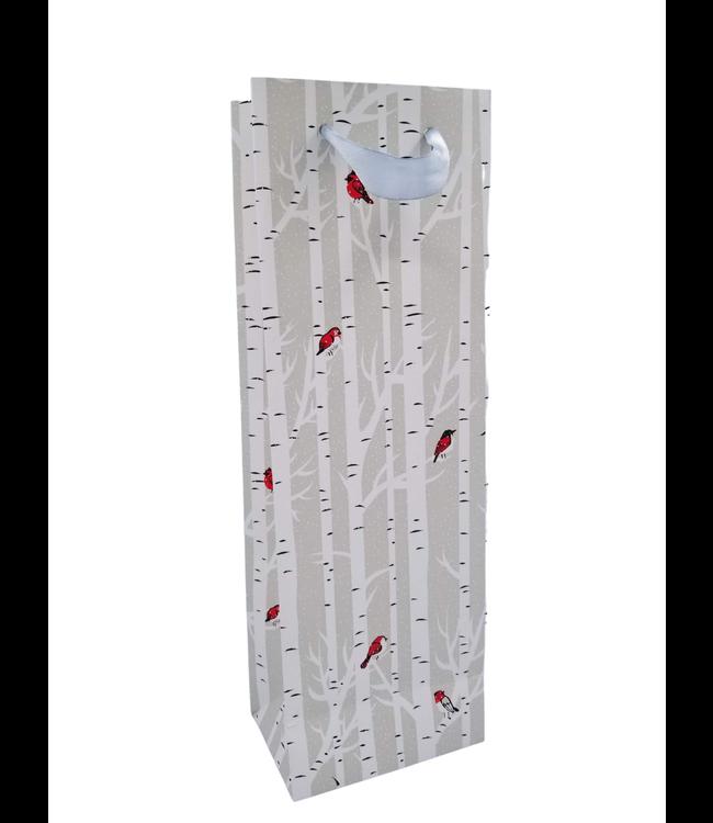 Gift Bag - Birches & Birds