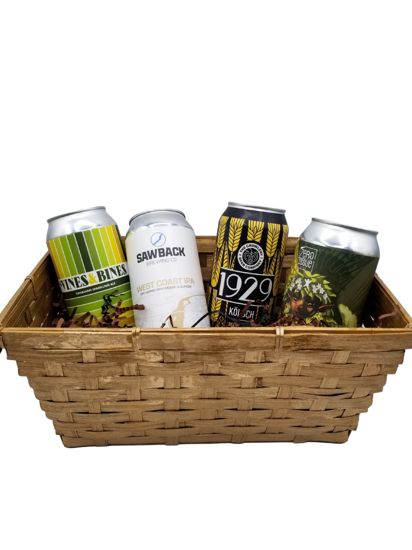 Picture of: Gold Bamboo Basket 12 The Alberta Beer Exchange